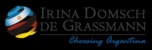 Irina Domsch de Grassmann – Choosing Argentina Logo
