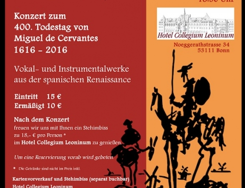 Concierto Don Quijote – Bonn