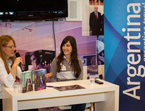 Conferencia Frankfurt Escritora argentina T Calligaris – FERIA DEL LIBRO