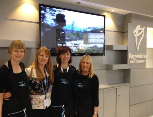 Coordinando Team de catering IMEX