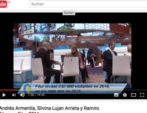FITUR Irina 2016 Video de YouTube