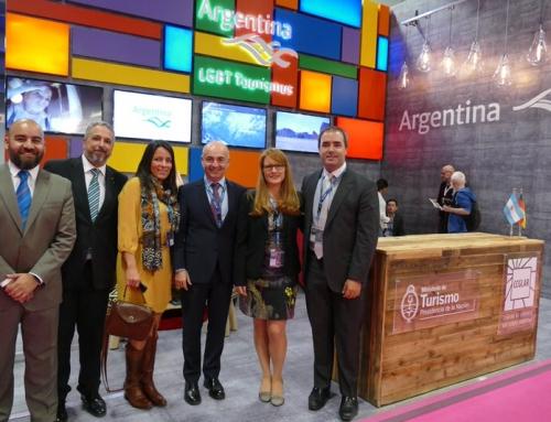 Con Embajador, representante de Bariloche y de LBGT