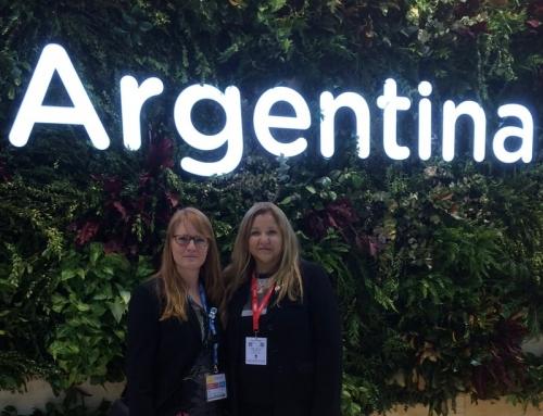 Con Ministra Arrieta Presidenta ENTE PATAGONIA FITUR