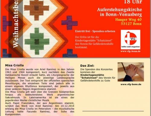 Postal Misa Criolla Bonn