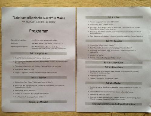 Programa Noche Latinoamericana