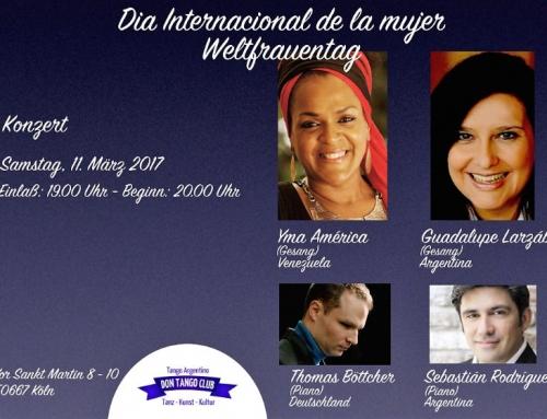 """Concierto Día Internacional de la Mujer. Ciclo Ariel Ramires """"mujeres Argentinas"""""""